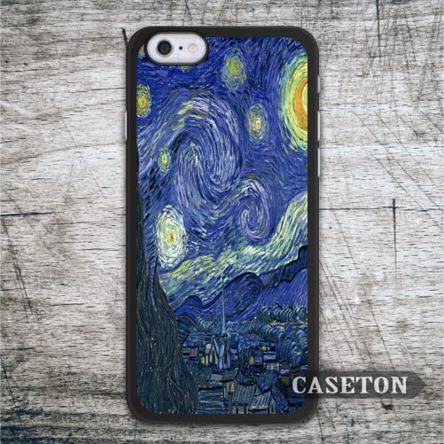 Starry Night Van Gogh font b Case b font For font b iPhone b font font
