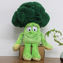 "Multiple Styles Goods in stock Fruits Vegetables cauliflower Mushroom blueberry Starwberry 9"" Soft Plush Doll Toy(China)"