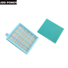 Top Quality Can Track 1pcs HEPA Filter & Filter Cotton for Philips FC8470 FC8471 FC8632 FC8630 FC8634 FC8645 FC9520 FC9521