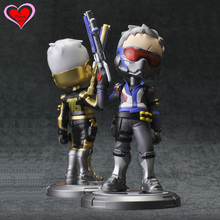 Love Thank You OW Over game watch Overwatches Soldier 76 16cm tall pvc figure toy Collectibles Model gift doll