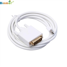 DATA top quality NEW 6FT Display Port DP Male to DVI Male Cable Cord Adapter Gold Plated 1080P HD for MacBook feb23