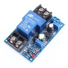 12V battery Low Voltage Protection Module With LED Indicator Light Anti-Over Discharge Board Universal Under Vlotage Protection