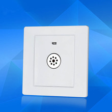 86 Model Voice Control Time-lapse Switches 180-240V Sound and Light Controlled Energy-Saving Switch Panel with Fire Control