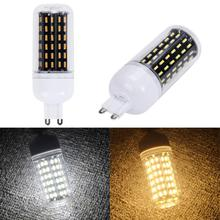 G9 30W 110V 96LED 4014 SMD Energy Saving Light Corn Lamp Bulb Pure/Warm White Chandelier Candle LED Lights For Home Decoration(China)