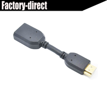 Free shipping High quality HDMI extension cable cord HDMI extender cable male to female HDMI1.4V,triple-shielded