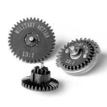 High Speed Gears Set Bevel Spur Sector Gear Drive Ratio 13:1 16:1 18:1 32:1 100:200 100:300 For Ver.2/3 Airsoft AEG Gearboxs(China)