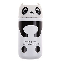Cute Panda Owl Stainless Steel Vacuum Cup Portable Thermal Cup Warmer Water Bottle Insulated Flasks Travel Thermocup Coffee Mug