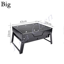 BBQ outdoor grill charcoal stove full set of barbecue tools household portable 3 -5 people