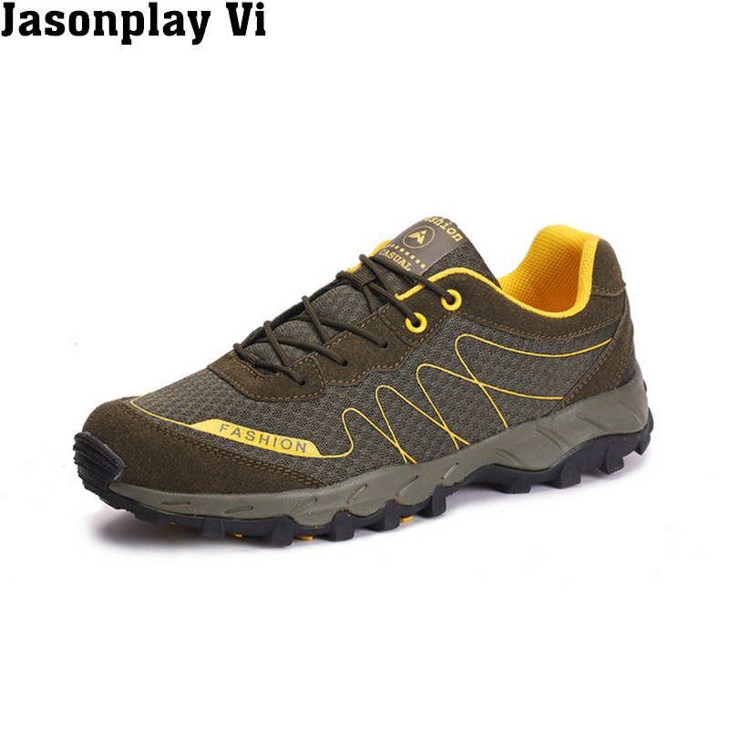 Jasonplay Vi &amp; 2017 New Brand Fashion mountain shoes Breathable Wearable Man Shoes Comfortable Autumn Casual Shoes Men WZ444<br><br>Aliexpress