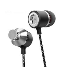 S1 Metal Earphones with Microphone Super Bass Headset Earbuds In-ear Earphone for phone Xiaomi iphone audifonos