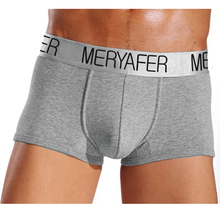4 pcs Men's Underwear Boxers sexy Silver edge Shorts high quality Modal Male underwear M L XL XXL cuecas boxer short(China)