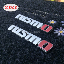 High quality 3D NISMO sticker badge emblem car logo Car styling auto accessories stickers on cars(China)