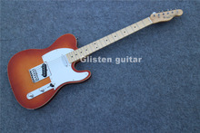 Made in China sunburst electric guitar,  fample maple top, ec59