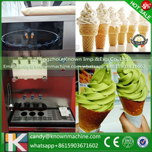 High Quality Soft Serve 3 Flavor Used vending soft ice cream machine(China)