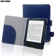 univeral case,cover for Amazon kindle paperwhite,kindle touch,kindle 4, kindle 5,6inch ebook reader(China)