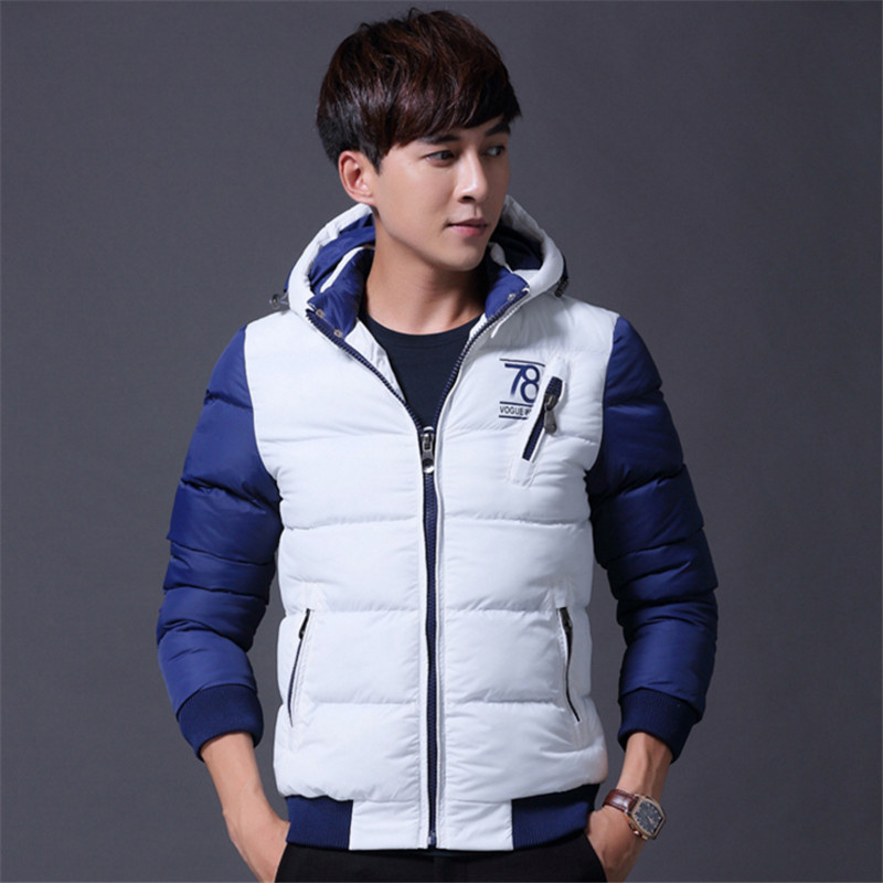 Mens thick warm winter clothes casual cotton hooded padded jacket 100% cotton Casual jacket suitable for young peopleОдежда и ак�е��уары<br><br><br>Aliexpress
