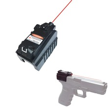 Tactical Compact Pistol Hand Gun Red Laser Sight Scope for Glock 17 18C 22 34 Series