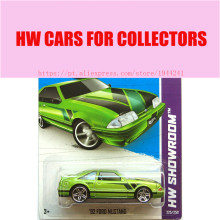 2013 New Hot 1:64 Cars wheels 92 ford mustang car Models Metal Diecast Car Collection Kids Toys Vehicle  Juguetes