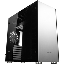 Jonsbo c4 computer case aluminum version type double faced atx water aluminum shell(China)