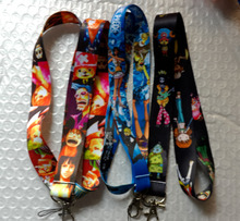 Wholesale Mixed 50 pcs Key Chains One Piece Cell Phone MP3 Strap Lanyards NECK Lanyard Charm A-K124(China)