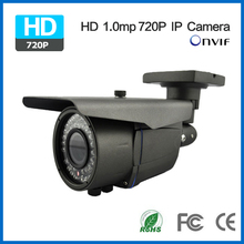 720P ONVIF Surveillance cam IR External Focus Waterproof cctv Camera IR Color Super HD IP Camera 1.0mp for home security(China)