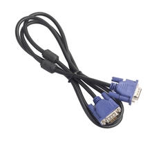1.5/3/5/10m VGA 15 Pin Male To Male Extension Cable For PC Laptop Projector HDTV 16#20(China)