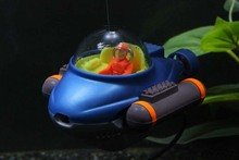 Buy aquarium ornament fish tank action toy spacecraft fish tank decoration submarine for $12.09 in AliExpress store