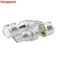 2Pcs 30W Car Auto High Power T10 W5W CREE chips LED Backup Reverse Parking Light Bulb For Toyota Honda Nissan Mazda Mitsubishi