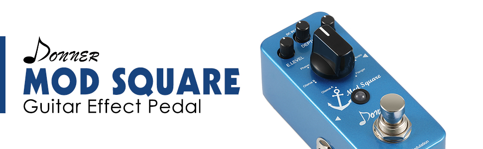 Donner - Mod Square - Guitar Effect Pedal