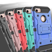 Buy 4 1 Heavy Duty Hybrid Durable Hard Armor Case Kickstand Shockproof Belt Clip Holster Cover Apple iPhone 8 / 8 Plus } for $4.49 in AliExpress store