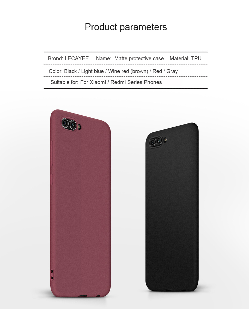 Soft Silicone Phone Case for Xiaomi Note 2 A1 Mix 2s 5X Max 2 Case Cover for Redmi Note 5A Prime 2S 5 Plus Case Matte Back Cover (8)