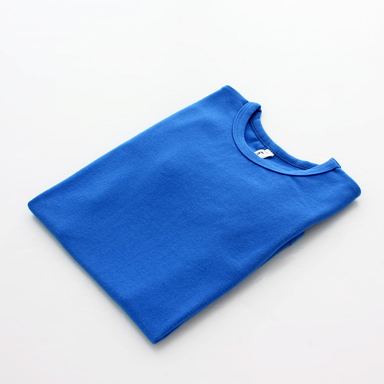 Autumn New 100% Cotton Kids T Shirt Candy Color Long Sleeve Baby Boys Girls T-Shirt Children Pullovers Tee Girl Boys Clothes 12