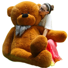 Hot Sales JUMBO 78'' White Giant Plush Stuffed Teddy Bear Best Gift 4 Colors 200cm(China)