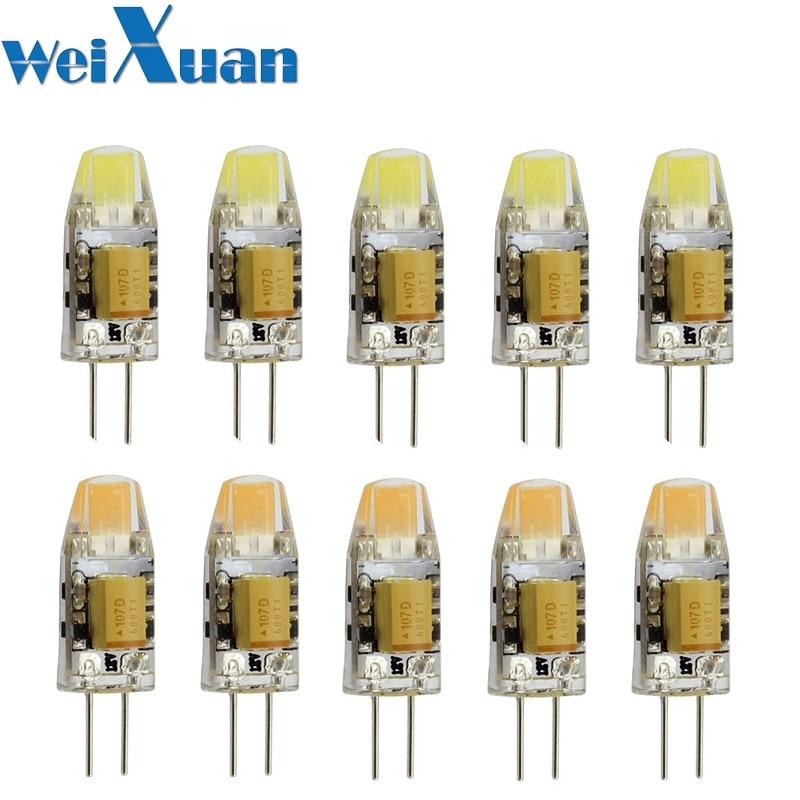 White//Warm White AC//DC Replace Halogen Light  LED Bulb Spotlight Lamp G4