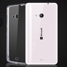 Unique Design Soft TPU Cell Phone Cover Cases for Microsoft Lumia 540 640 Hot Selling Clear Crystal Transparent Accessories