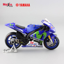 1:18 scale kids mini yamaha factory racing No.46 metal collectible motorbike diecast cars motorcycles gift toys for display 2017
