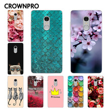 CROWNPRO Xiaomi Redmi Note 4 Case Cover Painting Phone Back Protector Fundas Xiaomi Redmi Note 4 Pro Prime / Redmi Note 4 Case