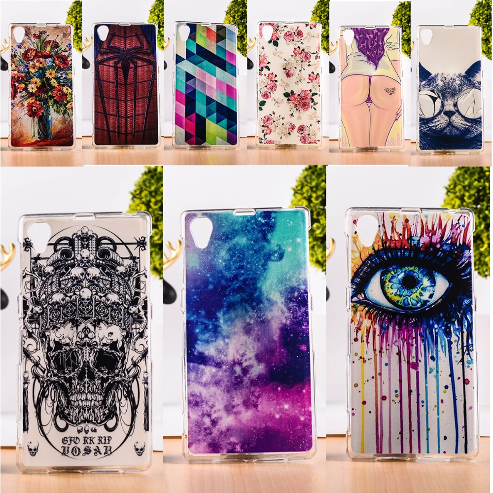 DIY Painted Soft TPU & Hard Plastic Cover For Sony Xperia Z1 L39H C6903 C6943 Cell Phone Case Anti-Knock Function Phone Skins(China (Mainland))