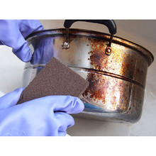 High Quality Sponge Kitchen Nano Emery Magic Clean Rub The Pot Except Rust Focal Stains Sponge(China)