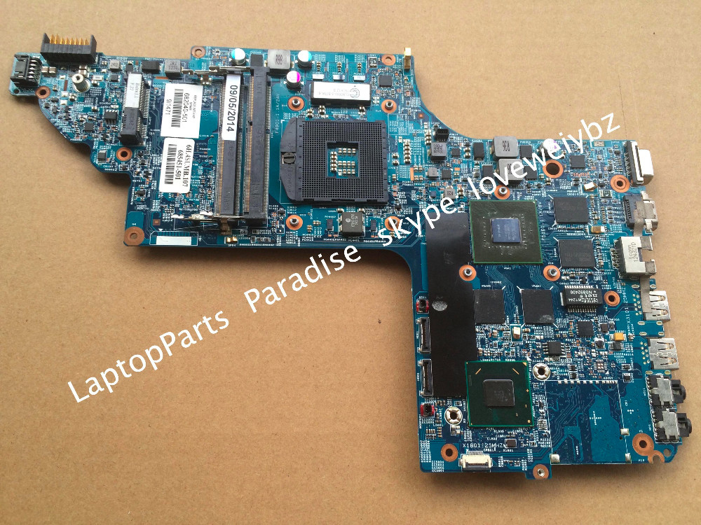 Free shipping For hp pavilion DV7 DV7-7000 DV7T-7000 Motherboard 682040-001 mainboard HM77 650M/2G<br><br>Aliexpress