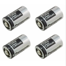4Pcs/lot Original CR2 3V Lithium camera battery For Panasoniic + Free shipping(China)