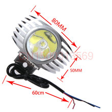 LED Car External Headlight 8W 10W 15W w/ CREE Chips 6000K White Motorcycle Fog DRL Headlamp Spotlight Hunting Driving Spot Light(China)