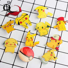 Free shipping 1pcs lovely mix acrylic Pokemon Accessories Fashion cartoon Brooch Badge Pin Collar brooch Jewelry Gift,Pet,n82