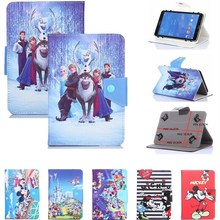 HISTERS Cartoon Cover for Ainol Novo9 Novo 9 Spark 9.7 inch Tablet UNIVERSAL PU Leather Stand Case for Kids(China)