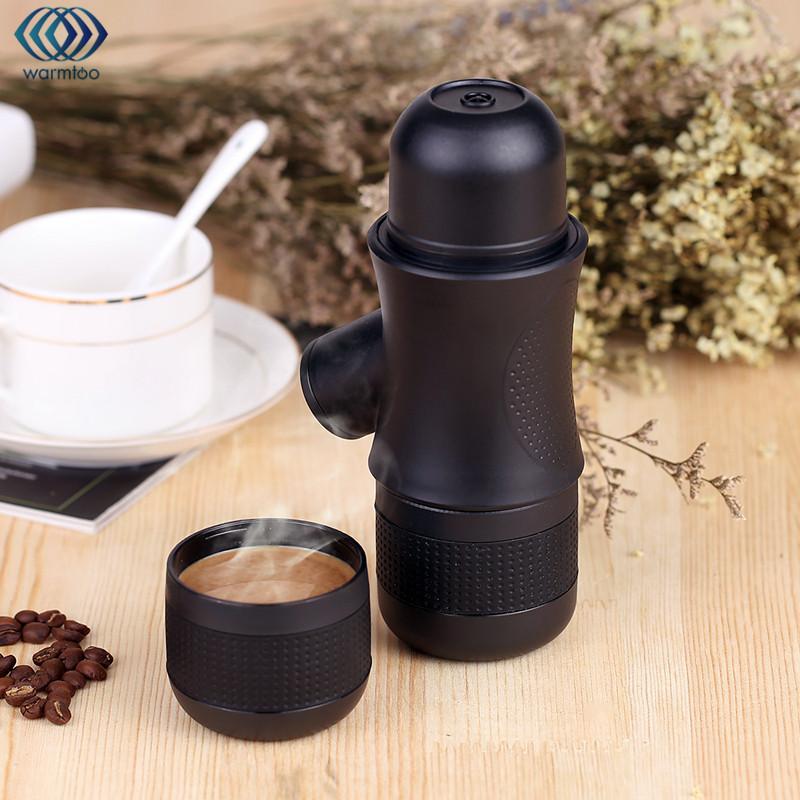 Manual Coffee Maker Portable Brewer Drinkware Compact Manual Espresso Maker Home Office Outdoors Coffee Making Tools Helper<br>