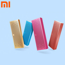 Original Xiaomi Mi Portable Bluetooth Speaker HIFI Soundbox English Version Stereo Music Center Support SD Card Handsfree