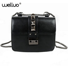 Brand Fashion Woman Crossbody Bag Promotional Ladies Totes luxury PU Leather Handbag Chain Shoulder Bag Plaid Women Bag XA699B