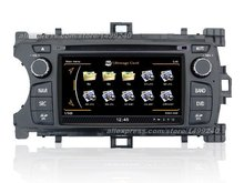 For Toyota Echo 2012~2013 - Car GPS Navigation System + Radio TV DVD iPod BT 3G WIFI HD Screen Multimedia System(China)
