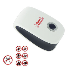 220V-110V 5W Ultrasonic Mosquito Repeller Anti Mosquito Reject Repeller Insect Mouse Killer Rodent Scarers Trap US Plug
