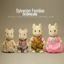 Animation Garage Kid EPOCH Model Toys: Action Figure PVC Dolls Sylvanian Families Funny Mouse Model Decoration Excellent Gifts